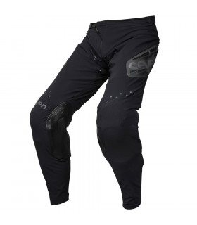 PANTALON MX ZERO RAIDER BLACK/AQUA LIGHT.