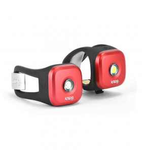 KNOG BLINDER 1 LIGHT TWINPACK (RED)