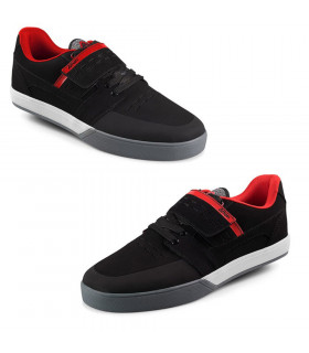 AFTON VECTAL CLIP SHOES (BLACK/RED)
