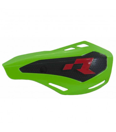 RTECH HP1 HANDGUARDS WITH MOUNTING KIT (GREEN)