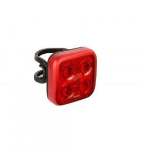 KNOG BLINDER MOB FOUR EYES REAR BIKE LIGHT (RED)