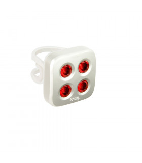 KNOG BLINDER MOB THE FACE REAR LIGHT (SILVER)