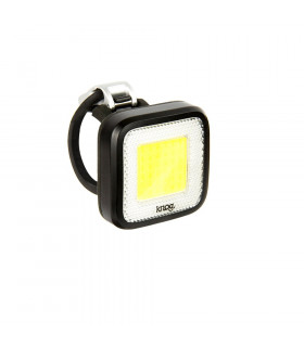 LUZ DELANTERA KNOG BLINDER MOB MR CHIPS (NEGRA)