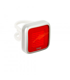 KNOG BLINDER MOB MR CHIPS REAR LIGHT (SILVER)