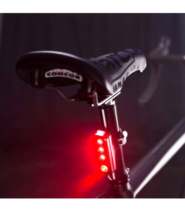 for Bicycle Safety Black Knog Blinder Road R70 Bright Rear Bike Taillight