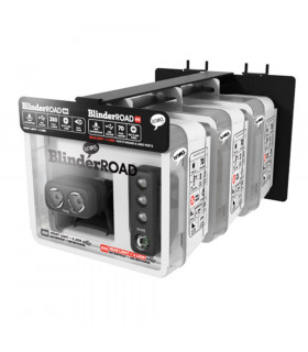 EXPOSITOR PARED KNOG BLINDER ROAD 250 TWIN+ 3 JUEGOS LUCES
