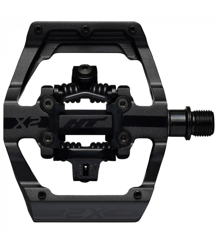 HT X2 DOWNHILL PEDALS (STEALTH BLACK)