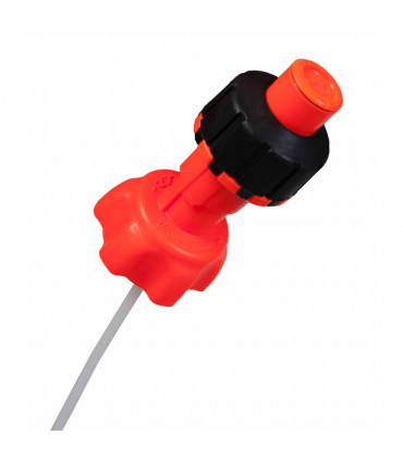 RTECH R15 GAS CAN QUICK FILL CONVERSION KIT (ORANGE)
