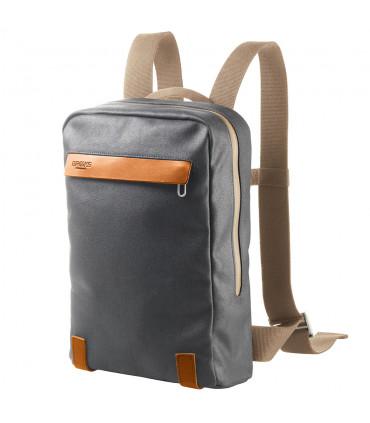 BROOKS PICKZIP COTTON CANVAS 10L BACKPACK (GREY/HONEY)