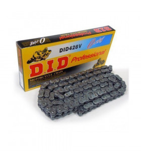 DID 428 V O-RING BLACK CHAIN (120 LINKS)