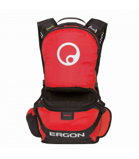 ERGON BE1 ENDURO BACKPACK (RED/BLACK)