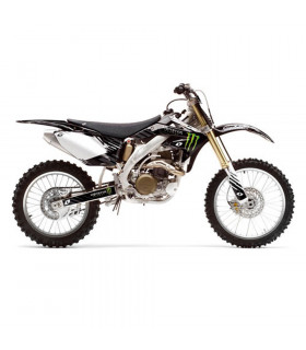 """MONSTER"" BLACK GRAPHICS KIT  FOR CRF 250 (2008-2009)"