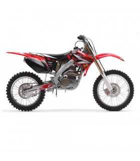 GRAPHICS KIT + SEAT COVER HONDA CRF 250 (2004-2009)