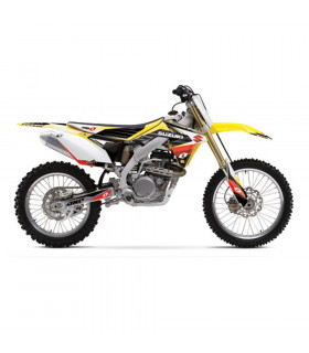 GRAPHICS KIT + SEAT COVER SUZUKI RM-Z 450 (2008)