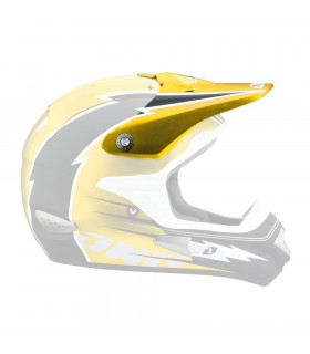 ONE INDUSTRIES TROOPER HELMET VISOR (HURRICANE YELLOW)