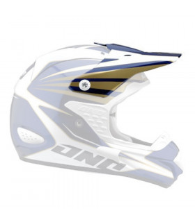 ONE INDUSTRIES TROOPER HELMET VISOR (BLUE/GOLD 07)