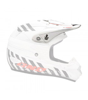 ONE INDUSTRIES TROOPER HELMET VISOR (BIONIC-FLAT WHITE)