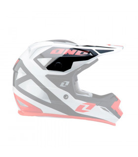 ONE INDUSTRIES TROOPER 2 HELMET VISOR (ERAGON-RED)