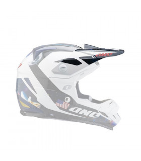 ONE INDUSTRIES TROOPER 2 HELMET VISOR (GALAXY)