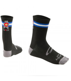 NINER SGX CAL-CO LOGO SOCKS  (LICORICE BLACK)