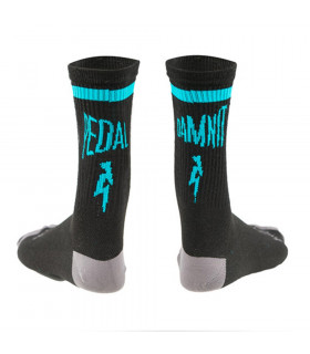 NINER PDI WOOL SOCKS (LICORICE BLACK)