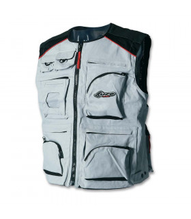 UFO FULL POCKET VEST (GREY )