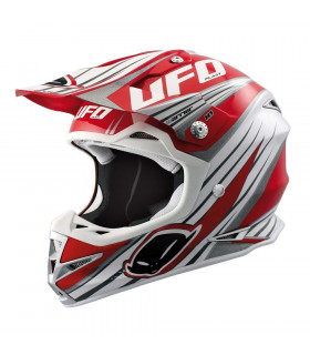 CASCO UFO WARRIOR TRAIL (ROJO)