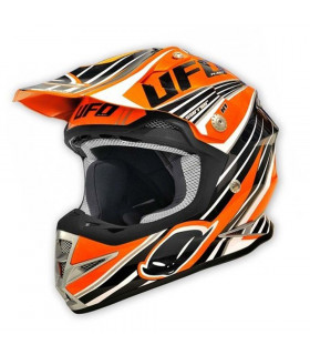 UFO WARRIOR TRAIL HELMET  (ORANGE)