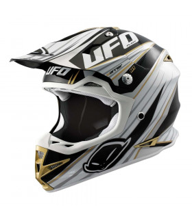 UFO WARRIOR TRAIL HELMET (BLACK)