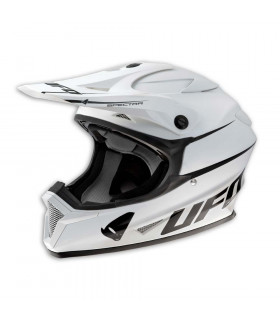 UFO LEVEL MX HELMET (WHITE)