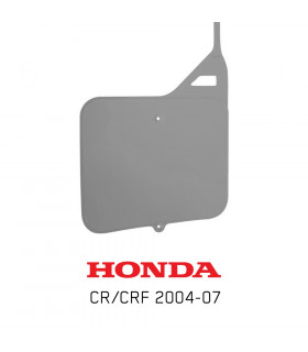 UFO VENTED FRONT NUMBER PLATE HONDA CR, CRF (2004-2007)