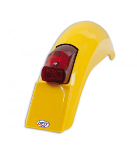 UFO VINTAGE ENDURO REAR FENDER (YELLOW)