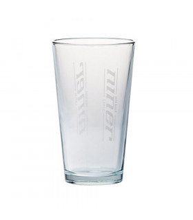 NINER PINT GLASS WITH LASER ETCH LOGO