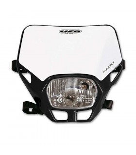 UFO FIREFLY APPROVED HEADLIGHT (BLACK)