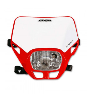 UFO FIREFLY APPROVED HEADLIGHT (RED)