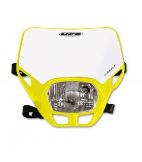 UFO FIREFLY APPROVED HEADLIGHT (YELLOW/WHITE)