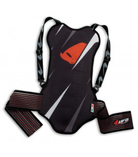UFO RAGE BLACK BACK PROTECTOR (SUP. A 1,70 M)