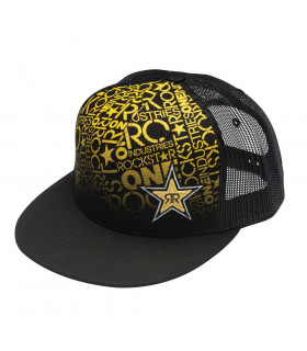 ONE ROCKSTAR SUNDOWNER CAP (BLACK)