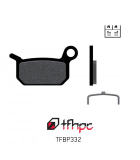 TFHPC BRAKE PADS FOR  FORMULA B4, 4 RACING