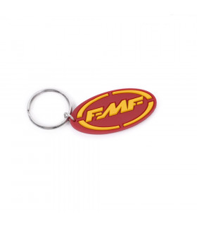 FMF SILICONE KEYCHAIN  (RED/YELLOW)