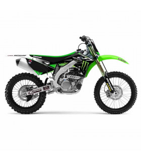 D'COR TEAM MONSTER ENERGY GRAPHIC KIT KAWASAKI KX 250 F (2013-2014)
