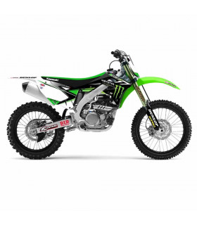 D'COR TEAM MONSTER ENERGY GRAPHIC KIT KAWASAKI KX 450 F (2012-2014)