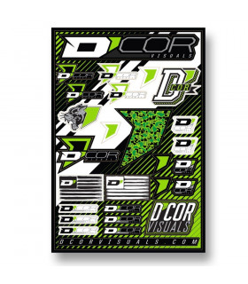 D'COR VISUALS DECAL SHEETS  (4 MM)