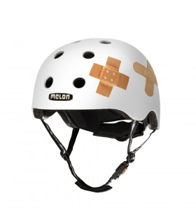 MELON PLASTERED WHITE HELMET (MATTE)