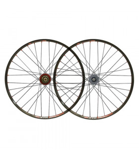 NOTUBES ARCH BLACK WHEELSET HOPE SINGLESPEED HUB