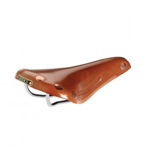 BROOKS TEAM PRO CHROME SADDLE (HONEY)