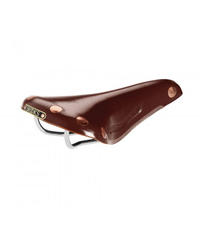 BROOKS TEAM PRO CHROME SADDLE (BROWN)