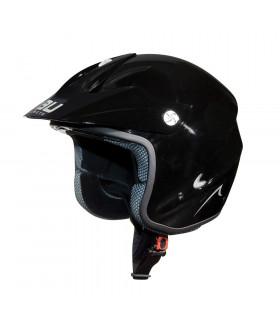 NAU N400 TRIAL HELMET (BLACK)