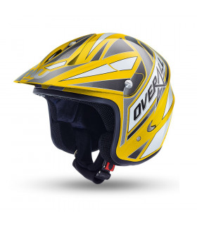 NAU N400 OVERALL TRIAL HELMET (YELLOW/GRAY)