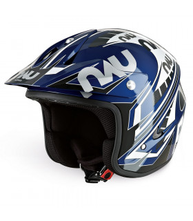 CASCO TRIAL NAU N400 POWER (AZUL/NEGRO)